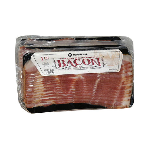 Member's Mark Naturally Hickory Smoked Bacon (3 lbs.)