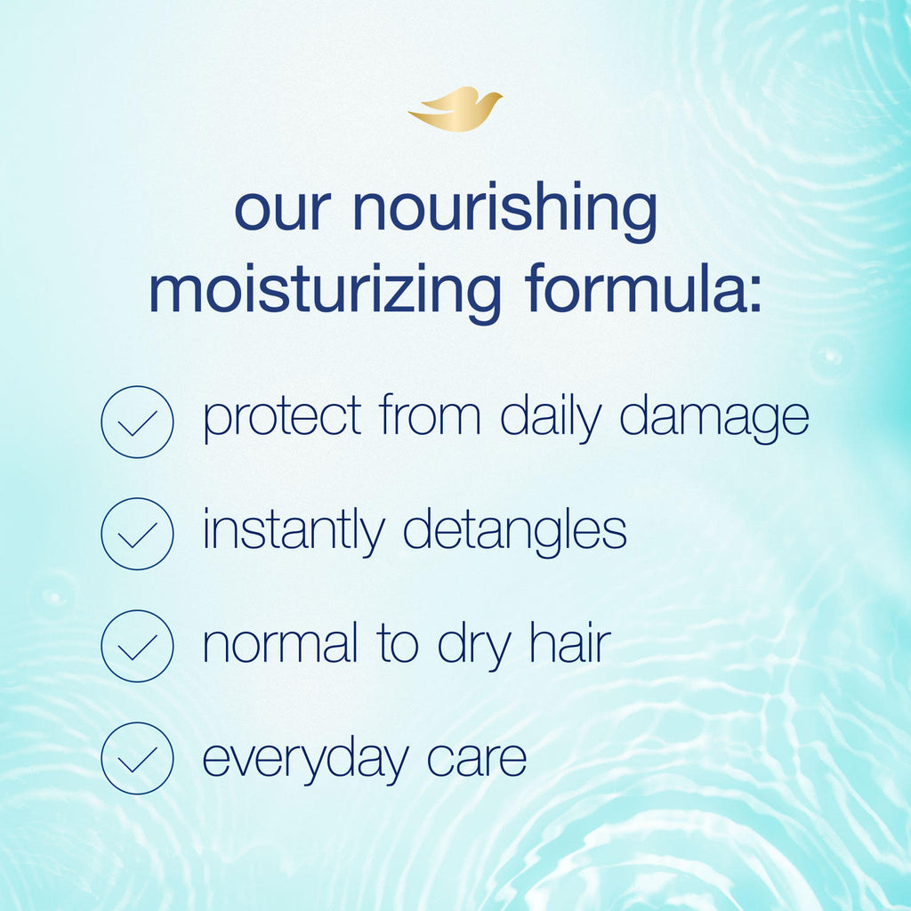 Dove Nutritive Solutions Shampoo, Daily Moisture (40 fl. oz.)