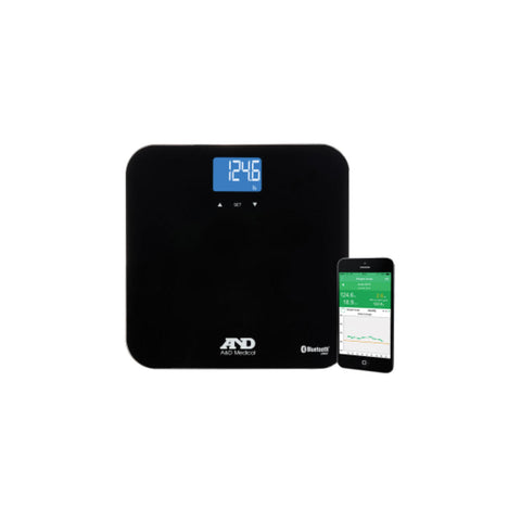 A&D Medical PLUSCONNECT Wireless Weight Scale