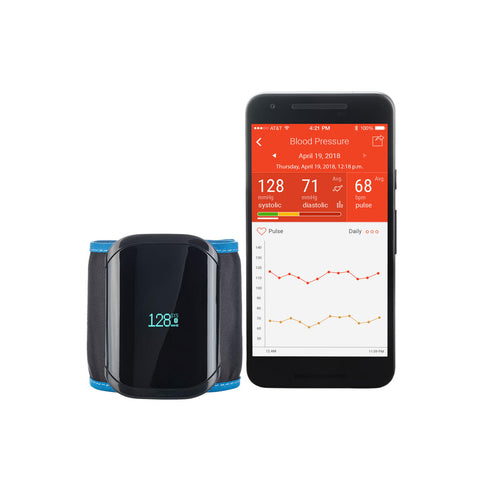 A&D Medical UltraCONNECT Wireless Wrist Blood Pressure Monitor