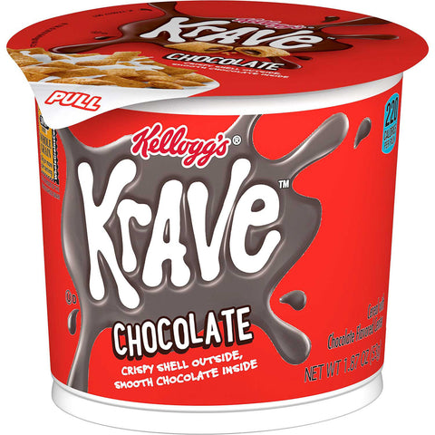 Kellogg's Krave Breakfast Cereal in a Cup (12 ct.)