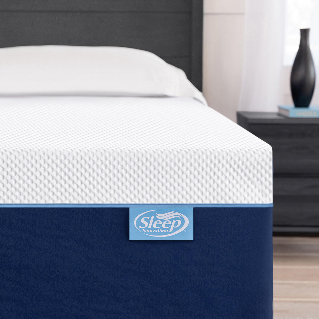 "Sleep Innovations 12"" Gel Memory Foam Full Mattress"