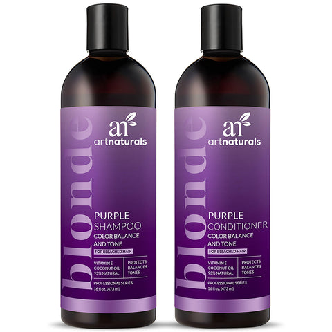 Artnaturals Purple Shampoo & Conditioner Duo