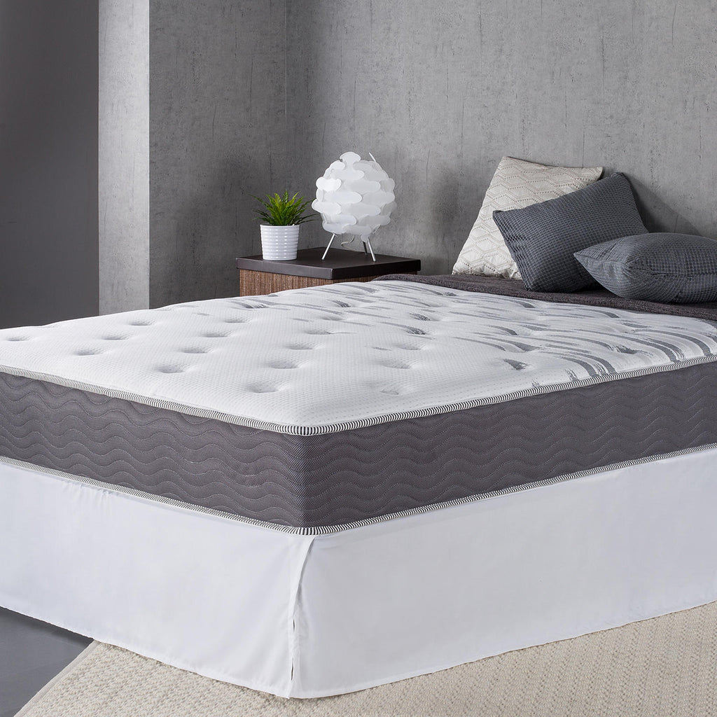 "Night Therapy 10"" Support Plus Spring Twin Mattress and Bi-Fold Box Spring Set"
