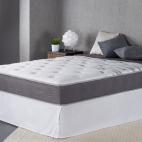 "Night Therapy 10"" Support Plus Spring Full Mattress and Bi-Fold Box Spring Set"