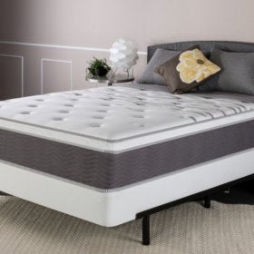 "Night Therapy 12"" Support Plus Spring Full Mattress and Bi-Fold Box Spring Set"
