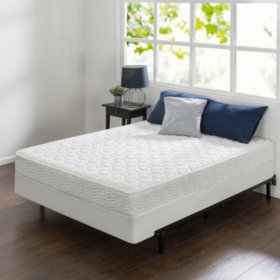 "Night Therapy 8"" Comfort Coil Spring Full Mattress and BiFold Set"