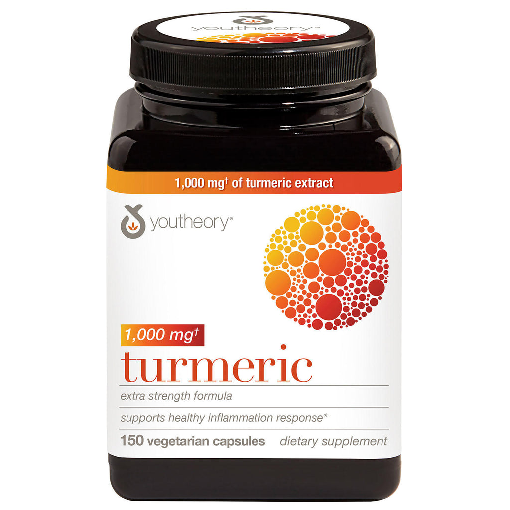 Youtheory Turmeric Extra Strength Capsules (150 ct.)