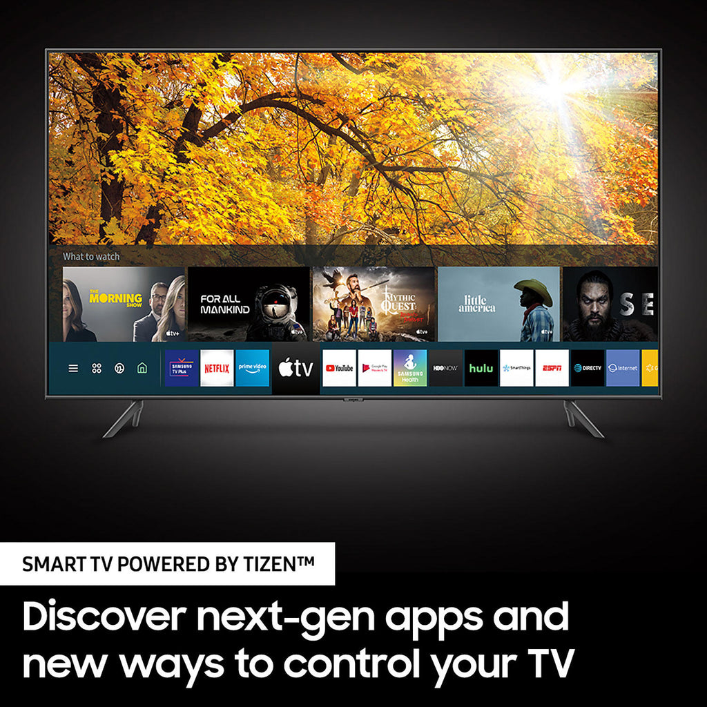 "Samsung 65"" Class TU700D-Series Crystal Ultra HD 4K Smart TV UN65TU700DFXZA (2020 Model)"