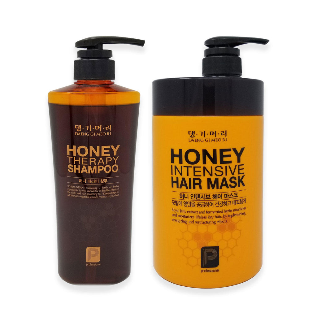 Daeng Gi Meo Ri Honey Therapy Shampoo and Hair Mask (2 pk)