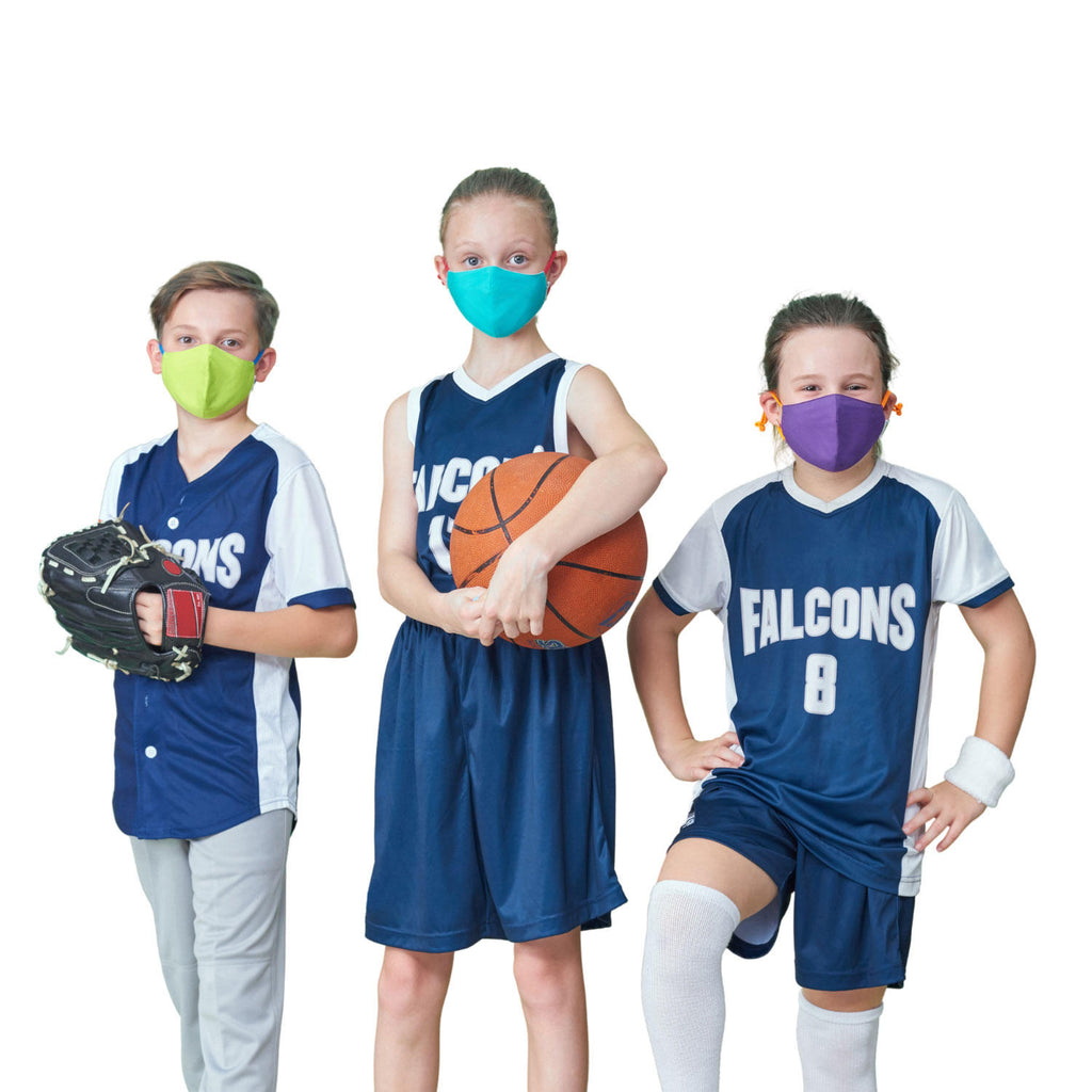 Crayola Kids Reusable Cloth Face Mask Set, Cool Colors (5 pk.)