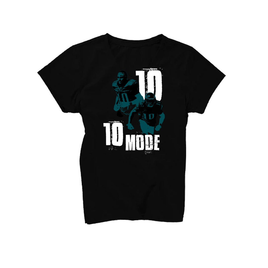 Women's Black 10 Mode T-Shirt