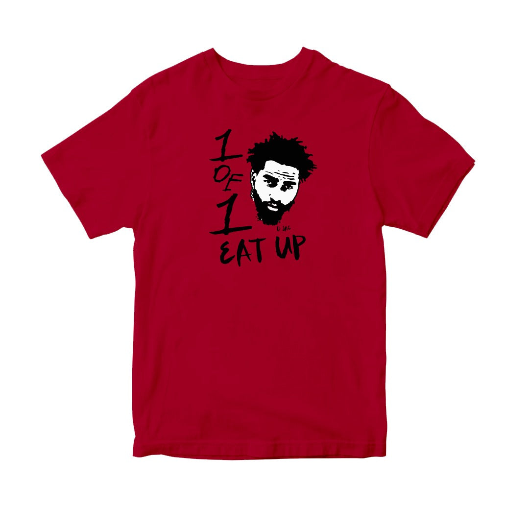 Kids Red Eat Up T-Shirt