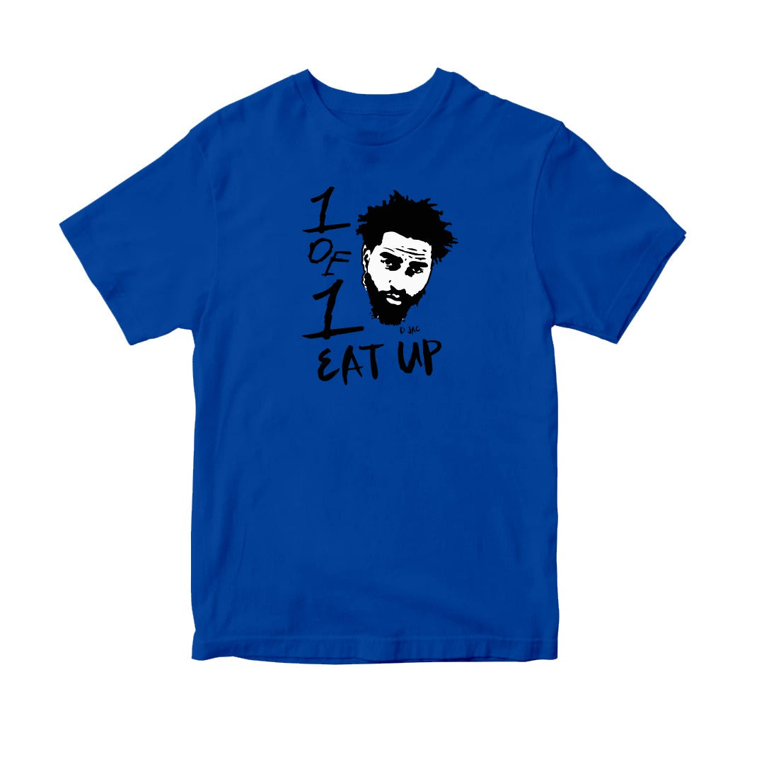 Kids Blue Eat Up T-Shirt