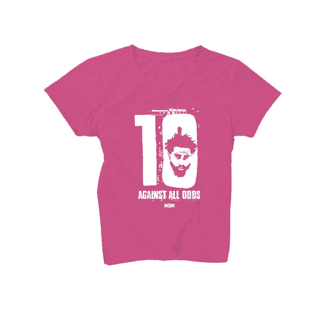 Women's Pink Against All Odds T-Shirt