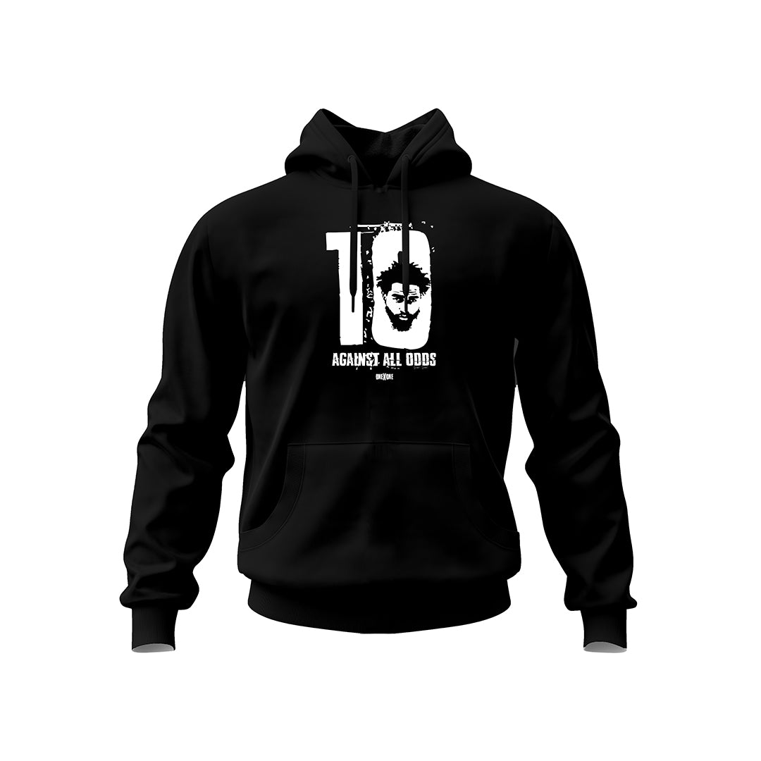 Black Against All Odds Hoodie