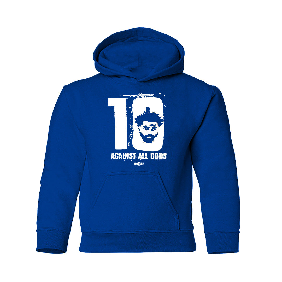 Kids Blue Against All Odds Hoodie
