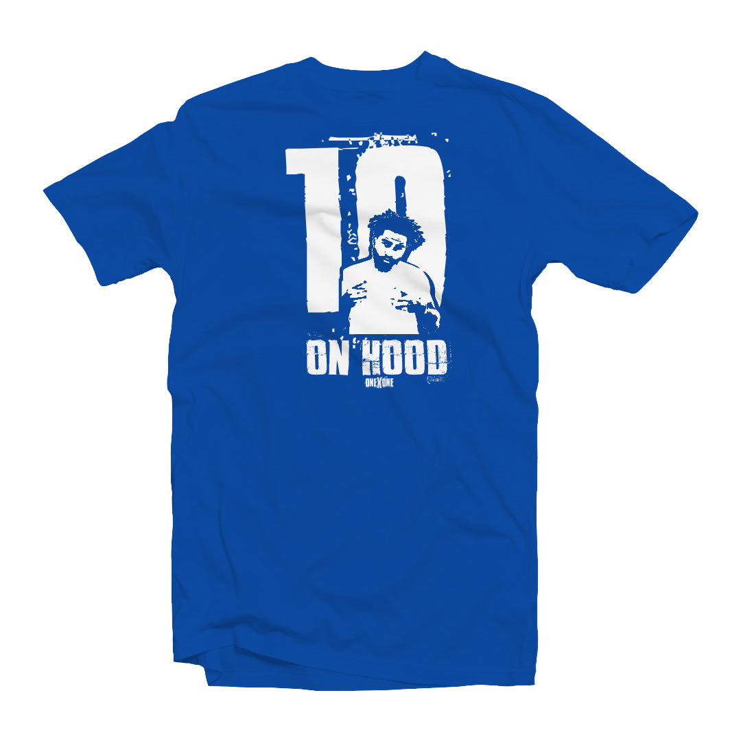 Blue On Hood T-Shirt