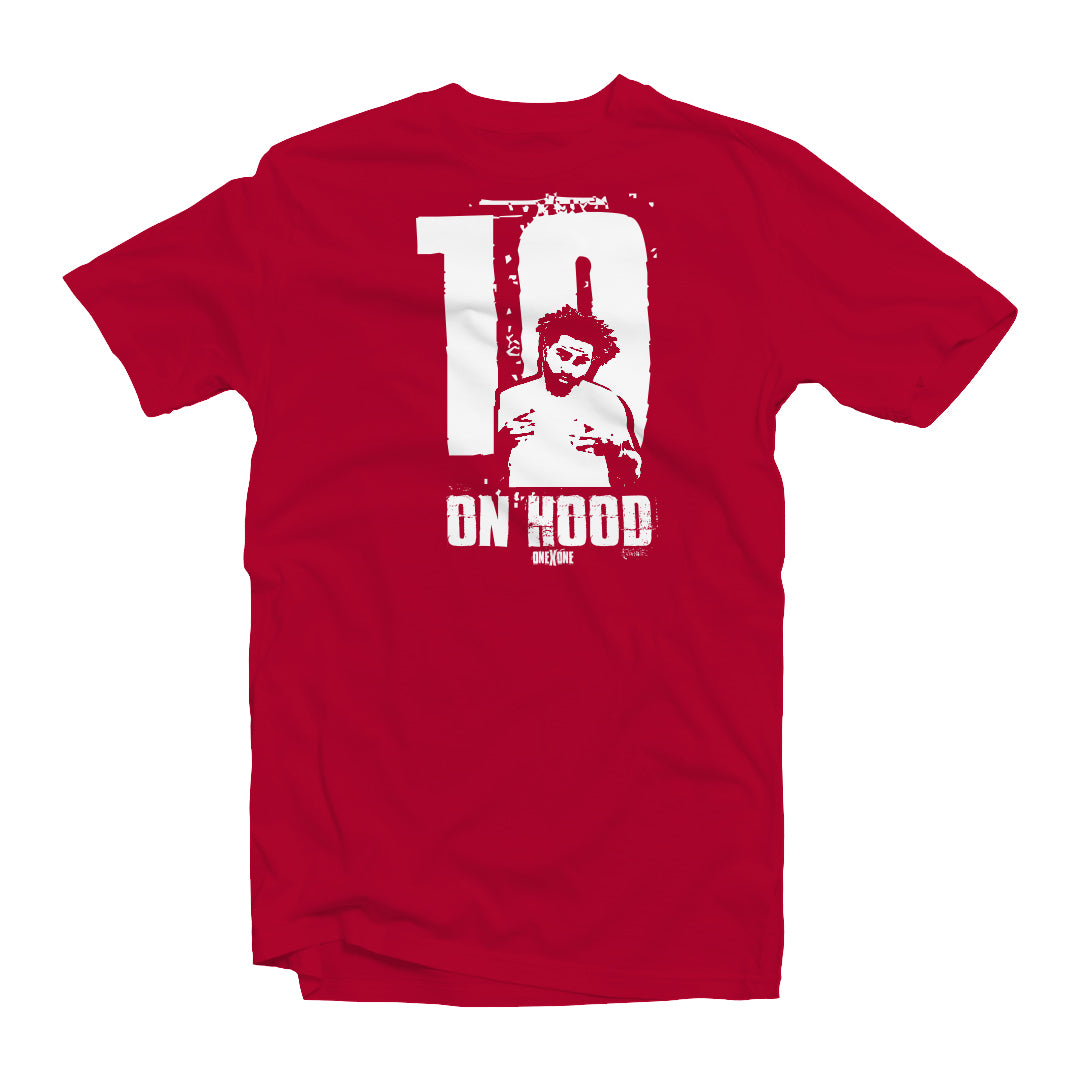 Red On Hood T-Shirt