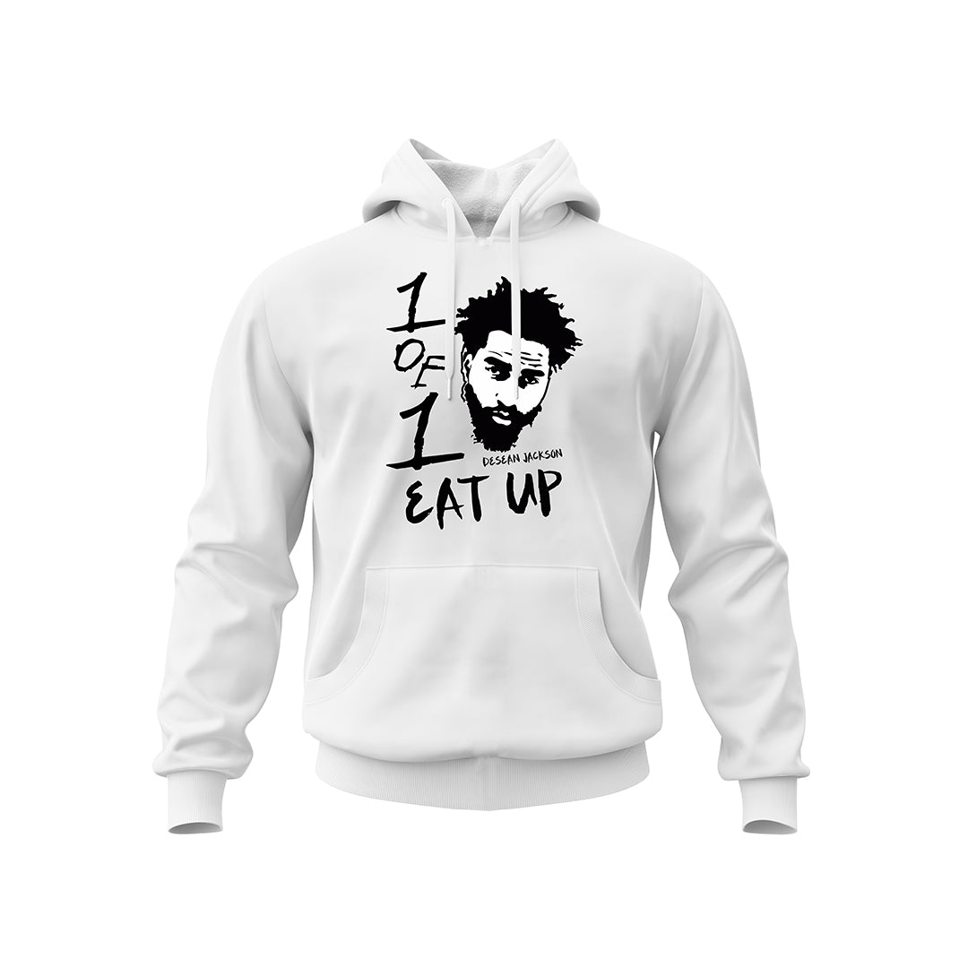 White Eat Up Hoodie