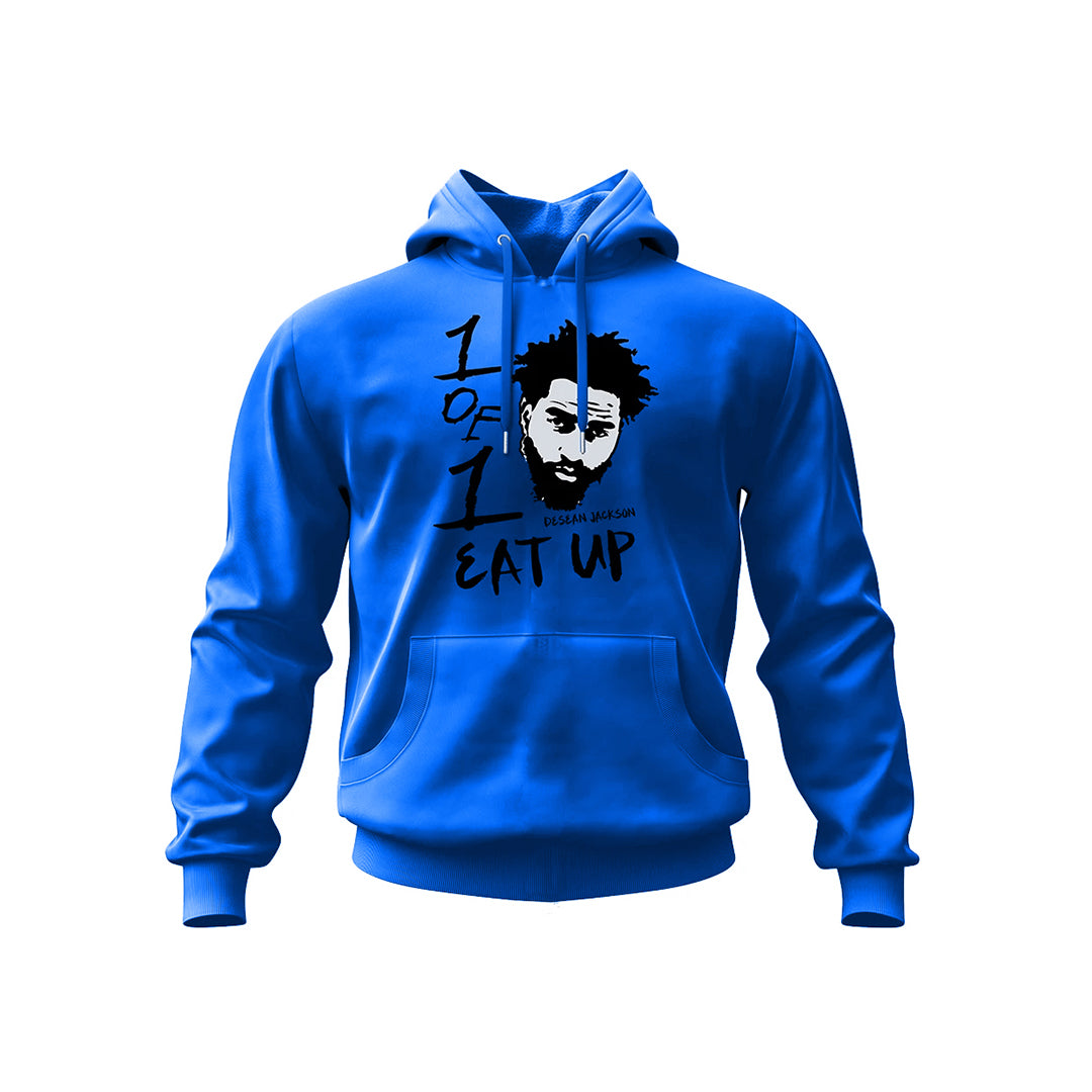 Blue Eat Up Hoodie
