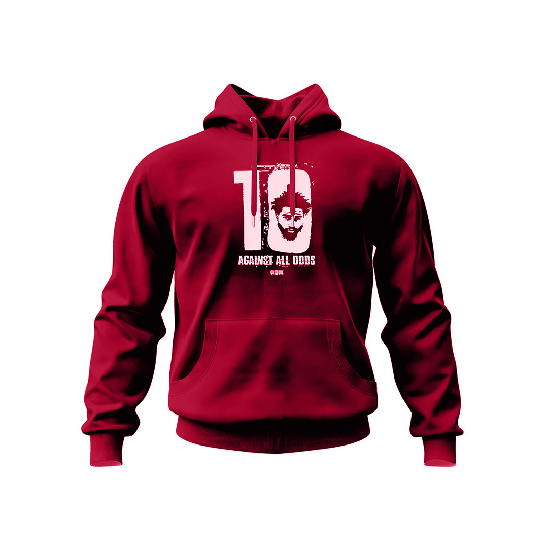 Red Against All Odds Hoodie