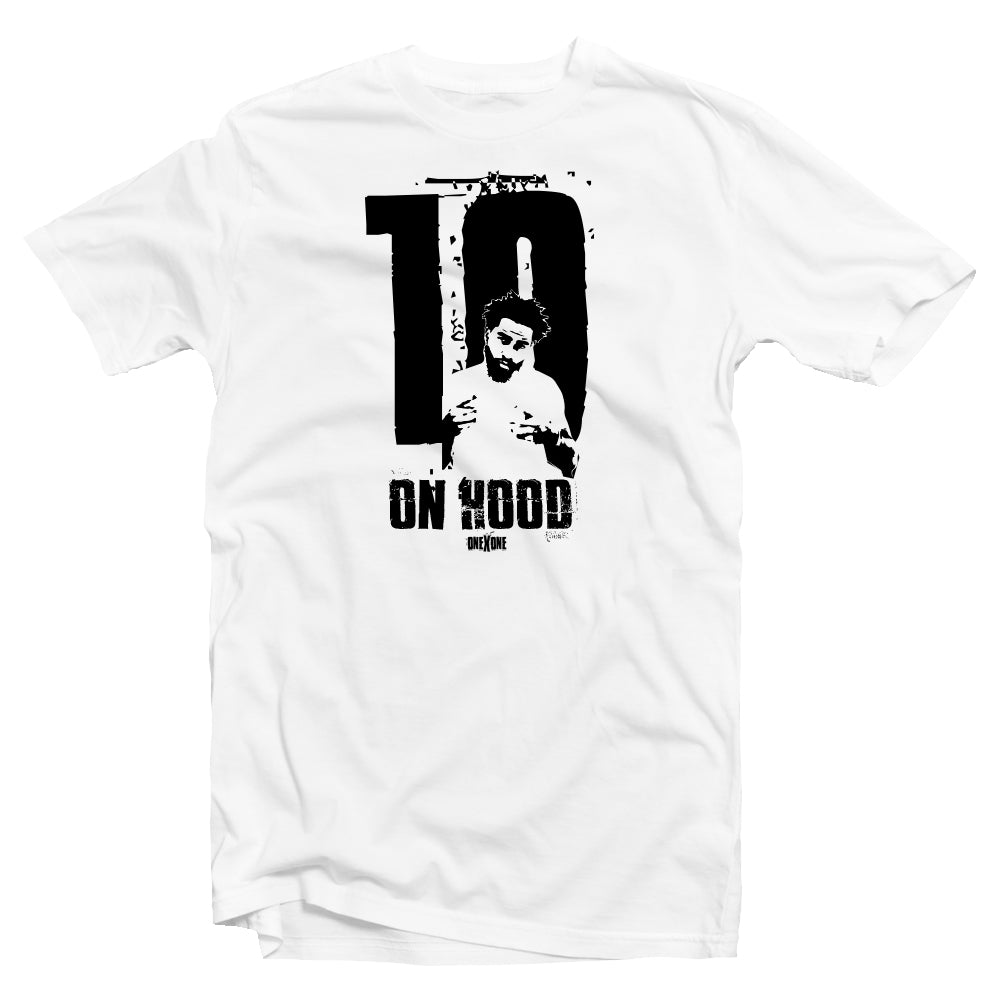 White On Hood T-Shirt