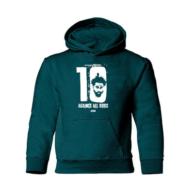 Kids Green Against All Odds Hoodie