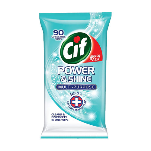 Cif Power & Shine Antibac Wipes - Busop