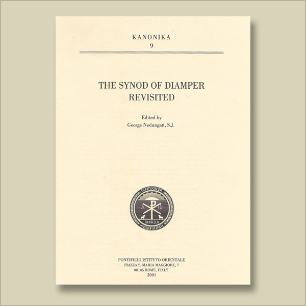 Kanonika 9. The Synod of Diamper Revisited