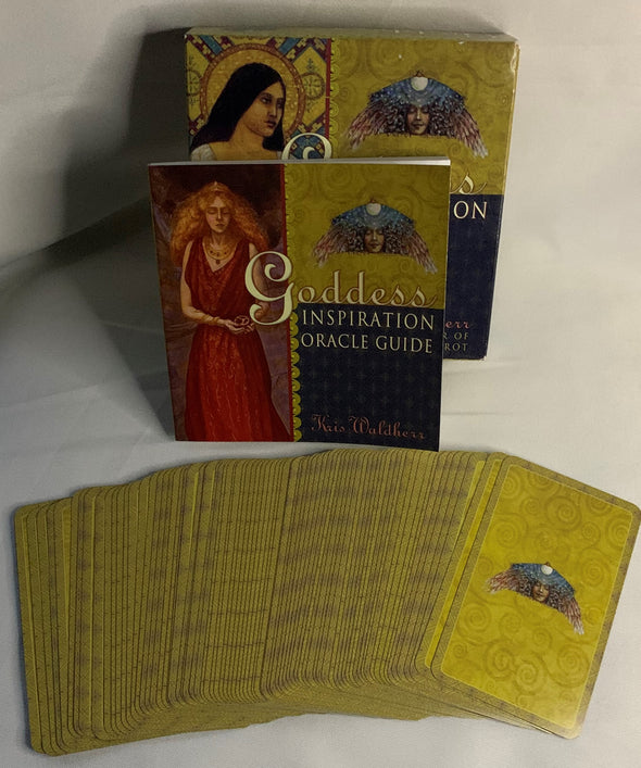 Kris Waldherr Goddess Inspiration Oracle Tarot Cards