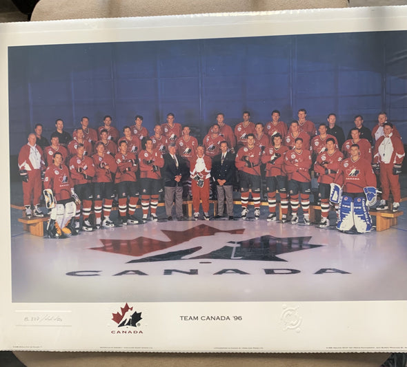 Team Canada World Cup Hockey print