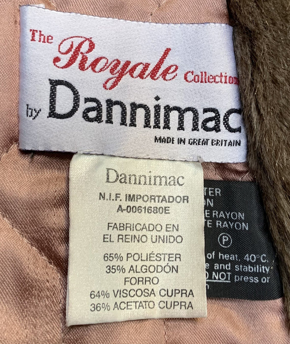 Dannimac Synthetic Fur Lined All Weather Coat (M)