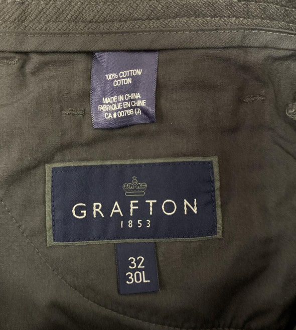 Grafton Dark Grey Pants (32x30)