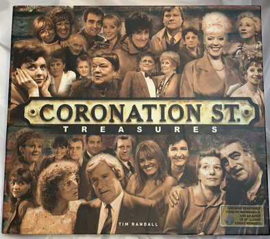 Coronation Street book and CD
