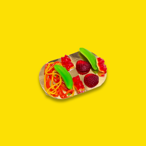 Raindrops Candy Mini Taco