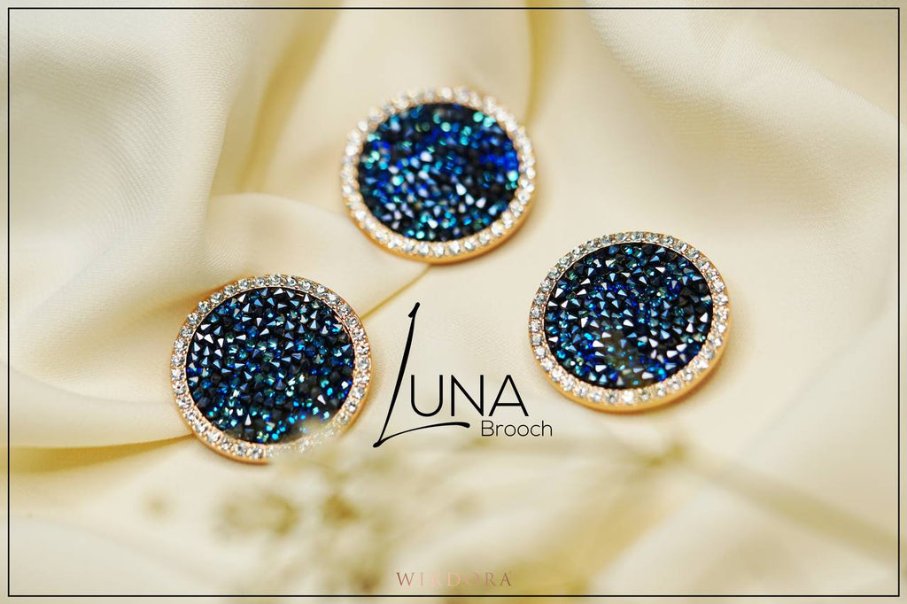 Launching The Luxurious Luna Brooch