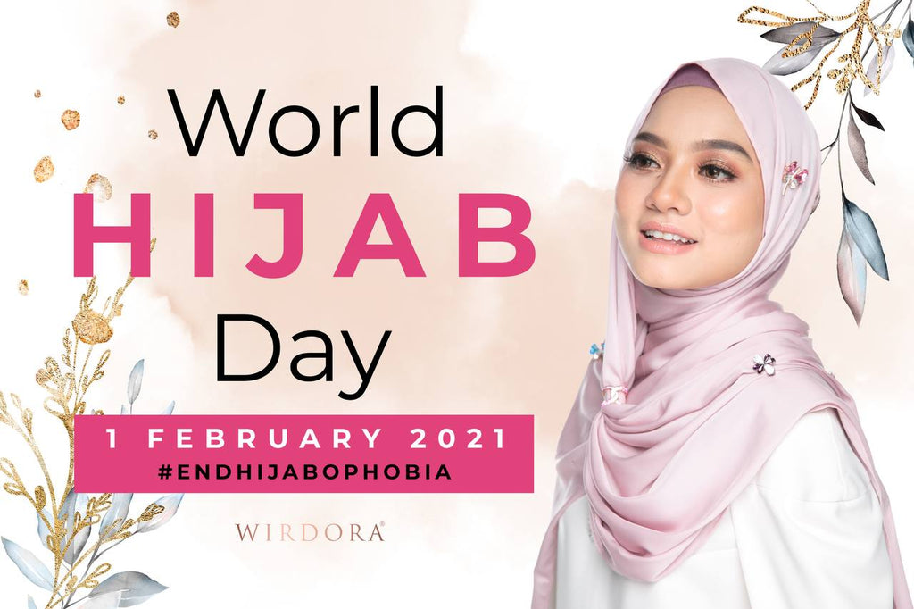 World Hijab Days: Beautiful Without Boundaries With Wirdora Pleated Shawl