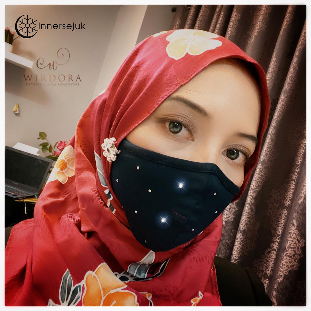 Wirdora Hijab Friendly Face Mask
