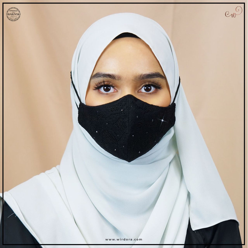 Wirdora Face Mask Premium Lace Series