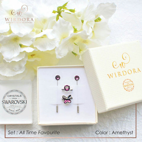 Wirdora Set All Time Favourite Hijab Accessories Set
