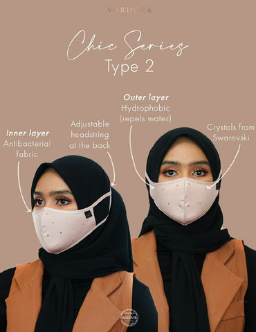 Wirdora Face Mask Chic Series Type 1
