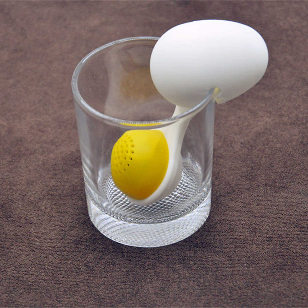 Egg in a cup tea infuser