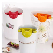 Load image into Gallery viewer, Cute Cat Tea Strainer Tea infuser