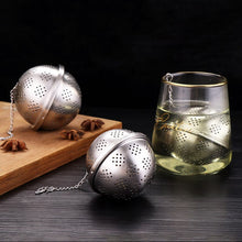 Load image into Gallery viewer, Round Seasoning Ball Tea Infuser Multifunction Soup Spice Strainer