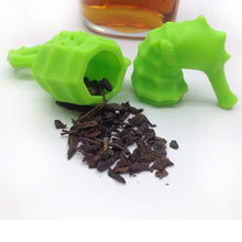 Load image into Gallery viewer, Silicone Tea Infuser Sea Horse