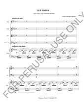 將圖片載入圖庫檢視器 Ave Maria by J.S. Bach and Gounod for Various combination of instrumentation Sheet music PDF Transcribed by Chaipruck Mekara - ChaipruckMekara