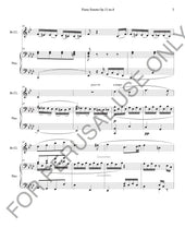 "โหลดรูปภาพลงในเครื่องมือใช้ดูของ Gallery Beethoven Piano Sonata ""Pathétique"" sheet music for Solo Instrument and Piano - ChaipruckMekara"