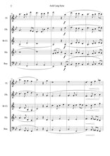 將圖片載入圖庫檢視器 Auld Lang Syne Woodwind Quintet Arrangement (Score + Parts) - ChaipruckMekara