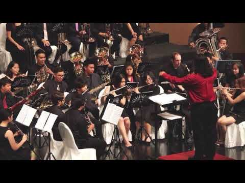 Kheak Choen Joaw Fantasy for Symphonic Band- Wind Symphony (Score only)